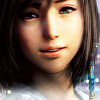 winged: Final Fantasy X character Yuna, smiling (Default)