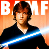 anghraine: luke skywalker in black; text: bamf (luke [bamf])
