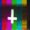"evewithanapple: an upside-down cross on a test pattern | <lj user=""timepunching""</lj> (tapes 