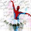 gingerschnapps: Spiderman as a ballerina (I can do anything I want)