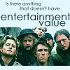 """aos_captions: A group of sailors, caption """"is there anything that doesn't have entertainment value"""" (Entertainment Value)"""