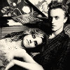 musyc: Manip of Draco and Hermione lounging on a sofa (Draco/Hermione: Posh)
